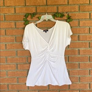 Express white top